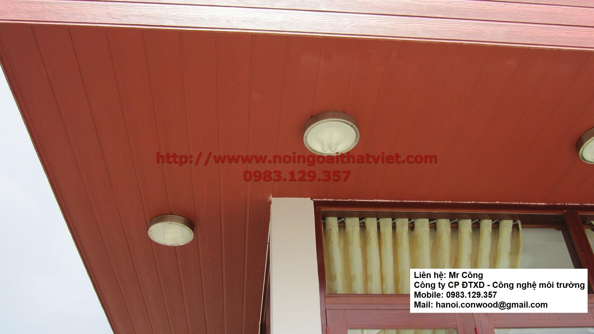 Gỗ nhân tạo conwood, gỗ conwood , gỗ ngoài trời